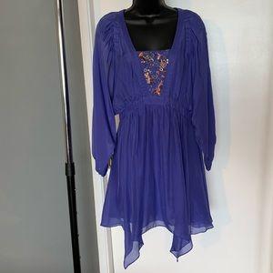 Anthropologie Leifsdottir purple bead dress (6/$14